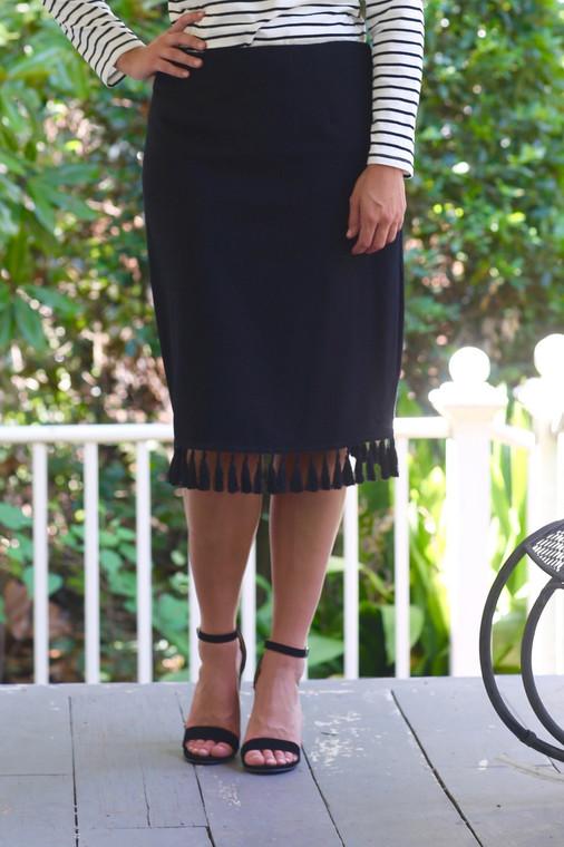 The Original Tassel Skirt (2 colors)