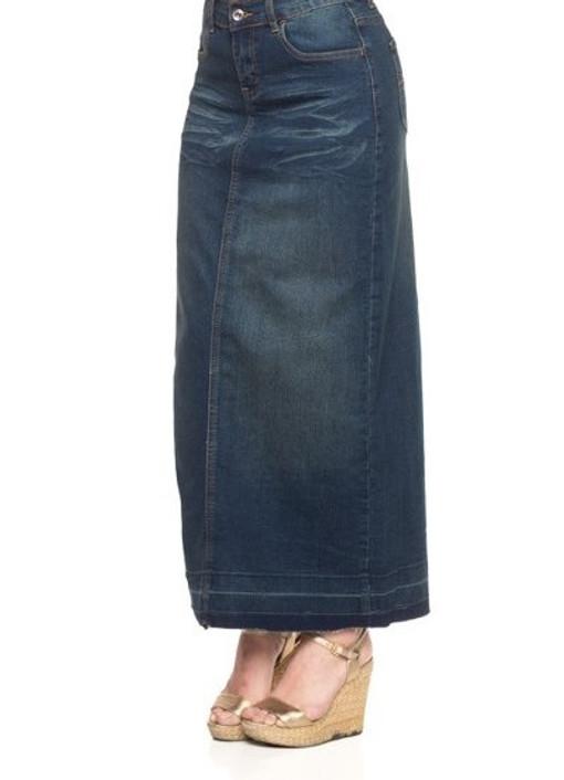 Weekend Wanderer Denim Skirt