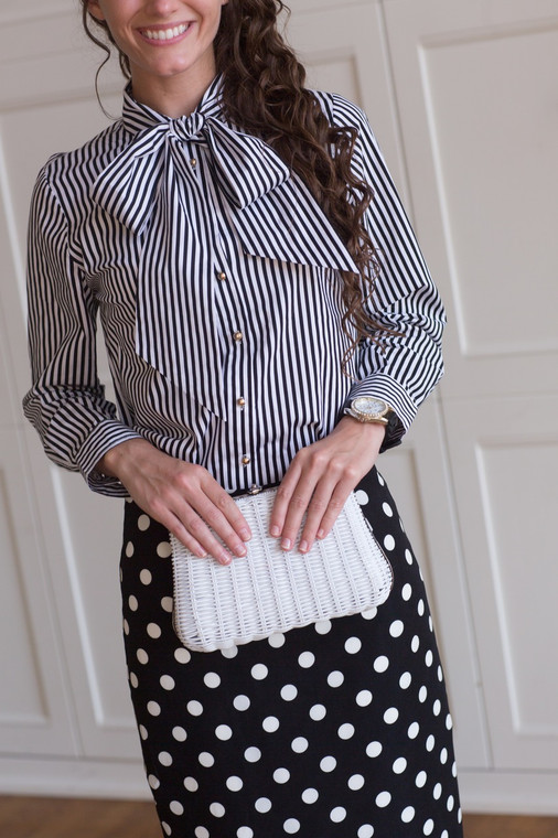 Dainty and Demure Blouse (5 colors)
