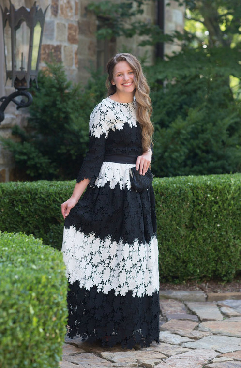 Lady at the Chateau Dress