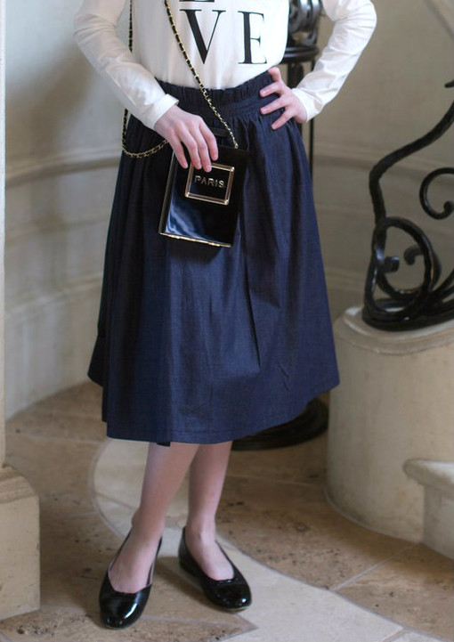Dainty Jewell's Original Denim Skirt for Girls