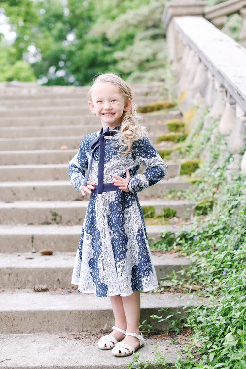 The Valencia Dress for Girls