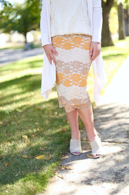 Sugar and Spice Pencil Skirt