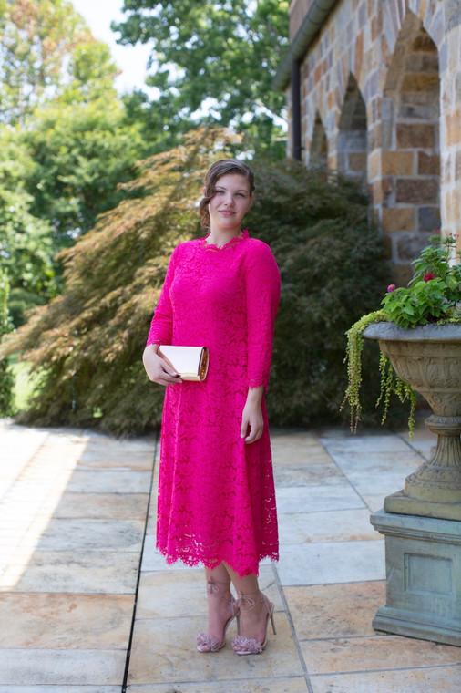Twirling Lace Dress