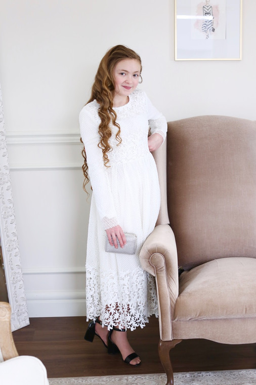 Tuileries in the Summer Dress for Girls