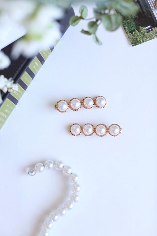 Vintage Pearl Hair Pin