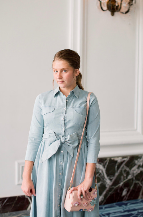 Madison Park Denim Dress