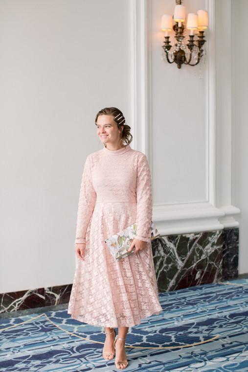 Beauty and Blush Dress