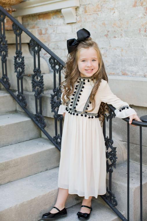 Tassels & Tea Dress for Girls