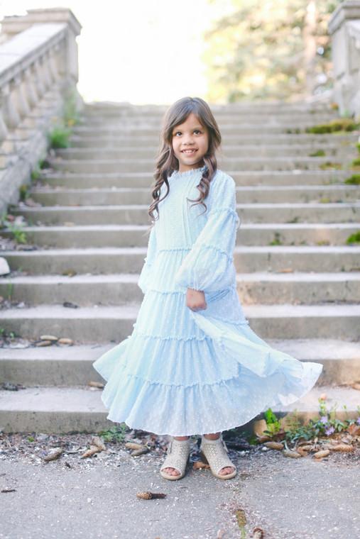 Bella Bleu Dress for Girls