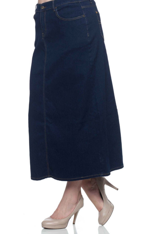 Simple & Chic Denim Skirt