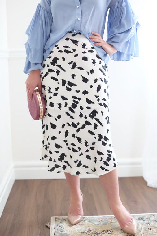 Spot on Skirt