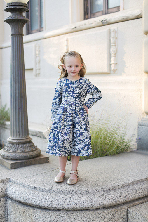 Brighton Blooms Dress for Girls