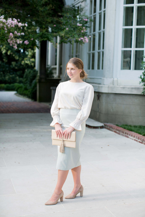 The Jackie Blouse (2 Colors)