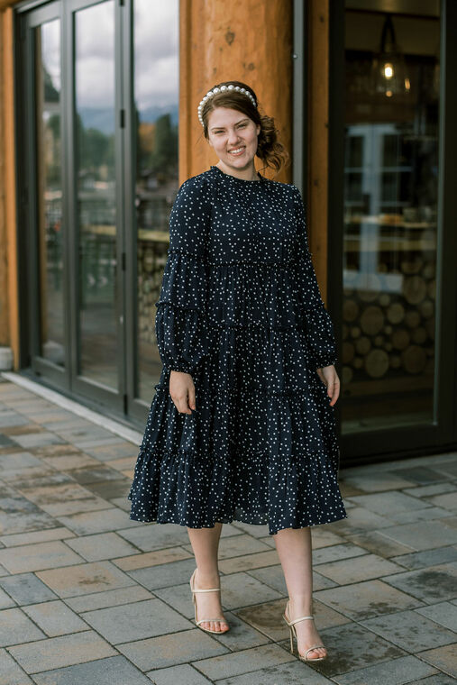 Bella Midnight Dress