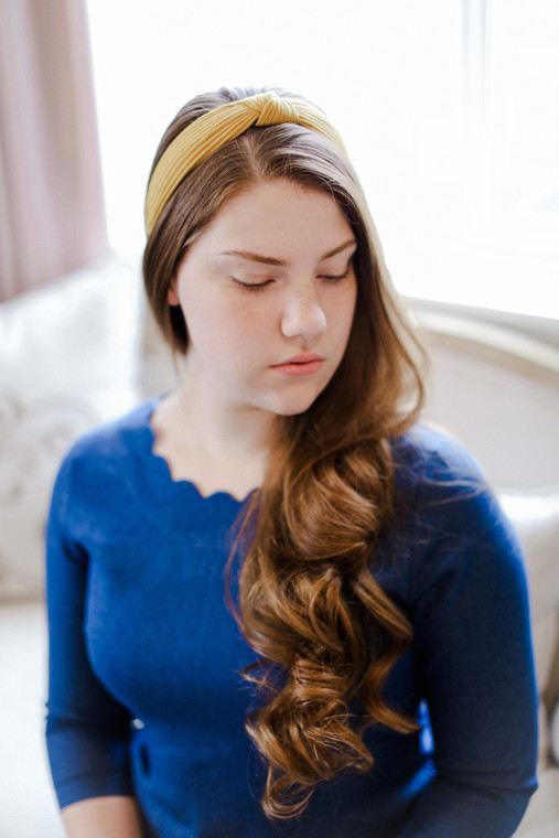 Knotted Headband - Jersey Knit (2 Colors)