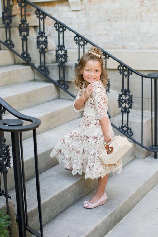Heirloom Rose Dress For Girls