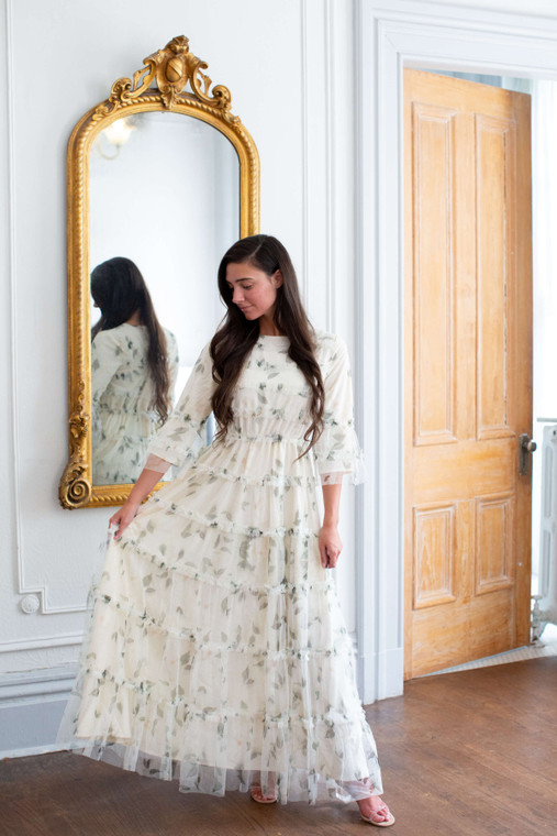French Vineyard Dress