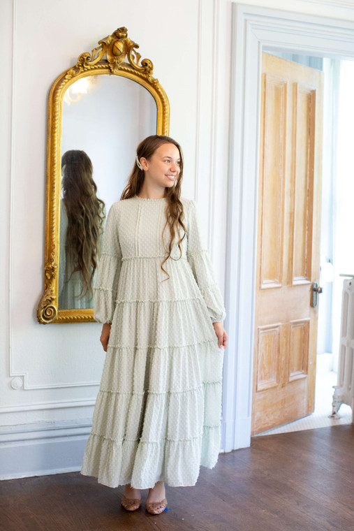 Bella Sage Dress