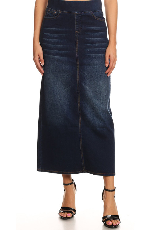 Easy & Effortless Denim Skirt