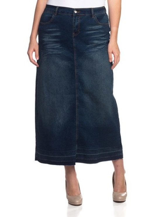 No-fuss Denim Skirt
