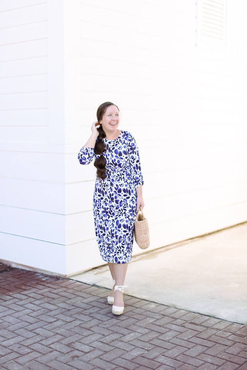 Breezy Boardwalk Swim Dress