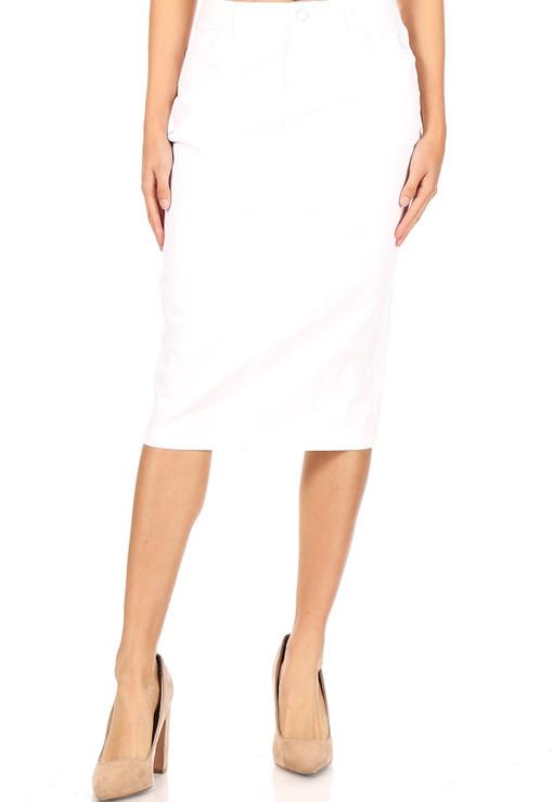 Fresh Start Denim Skirt