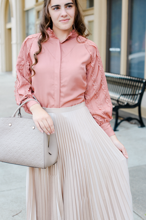 Roses at Sunset Blouse