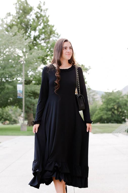 Stroke of Midnight Dress