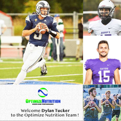 We welcome Dylan Tucker to the Optimize Nutrition Team!