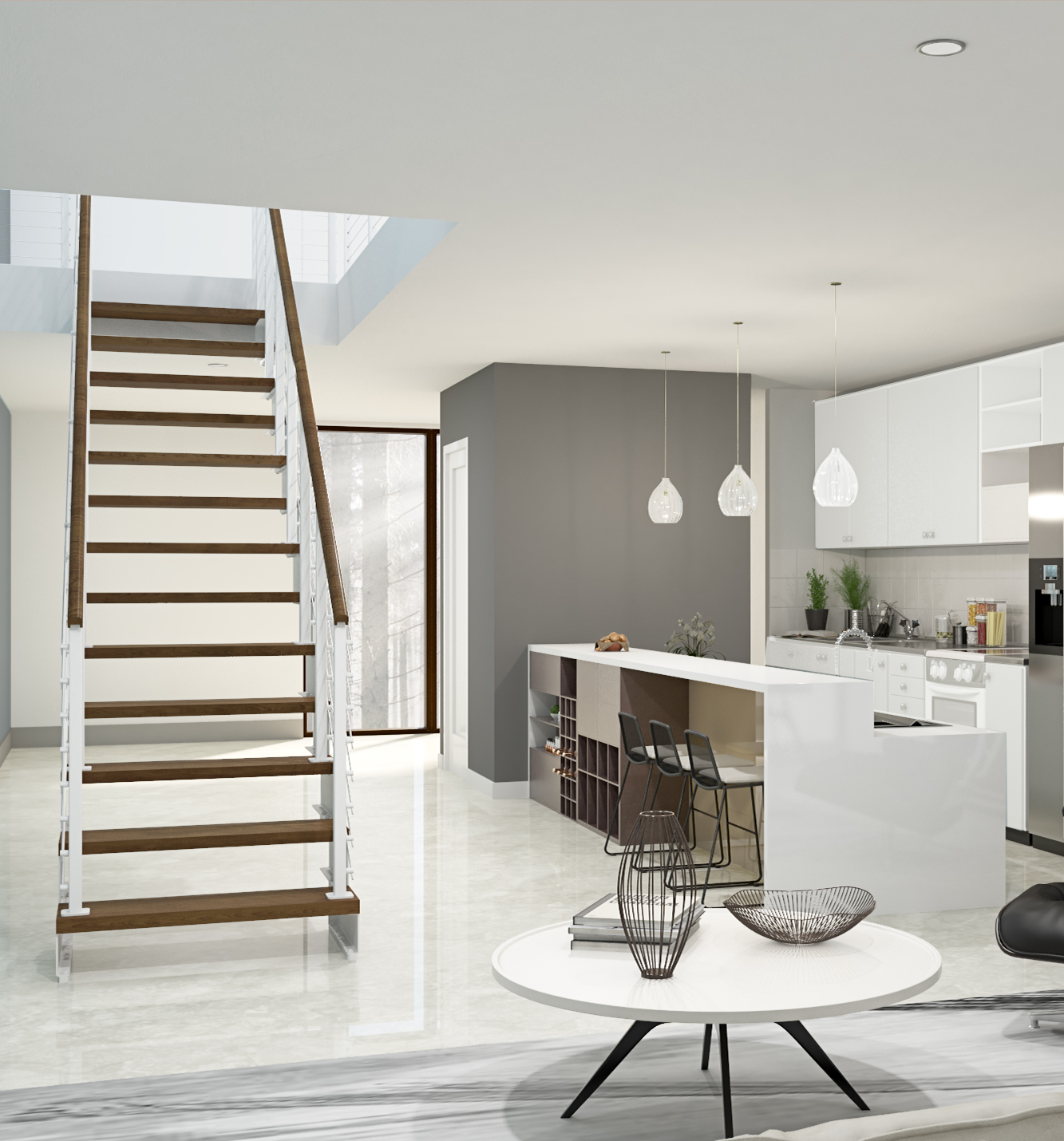 Stair Design Budget And Important Things To Consider: Modular Straight Staircase Kits