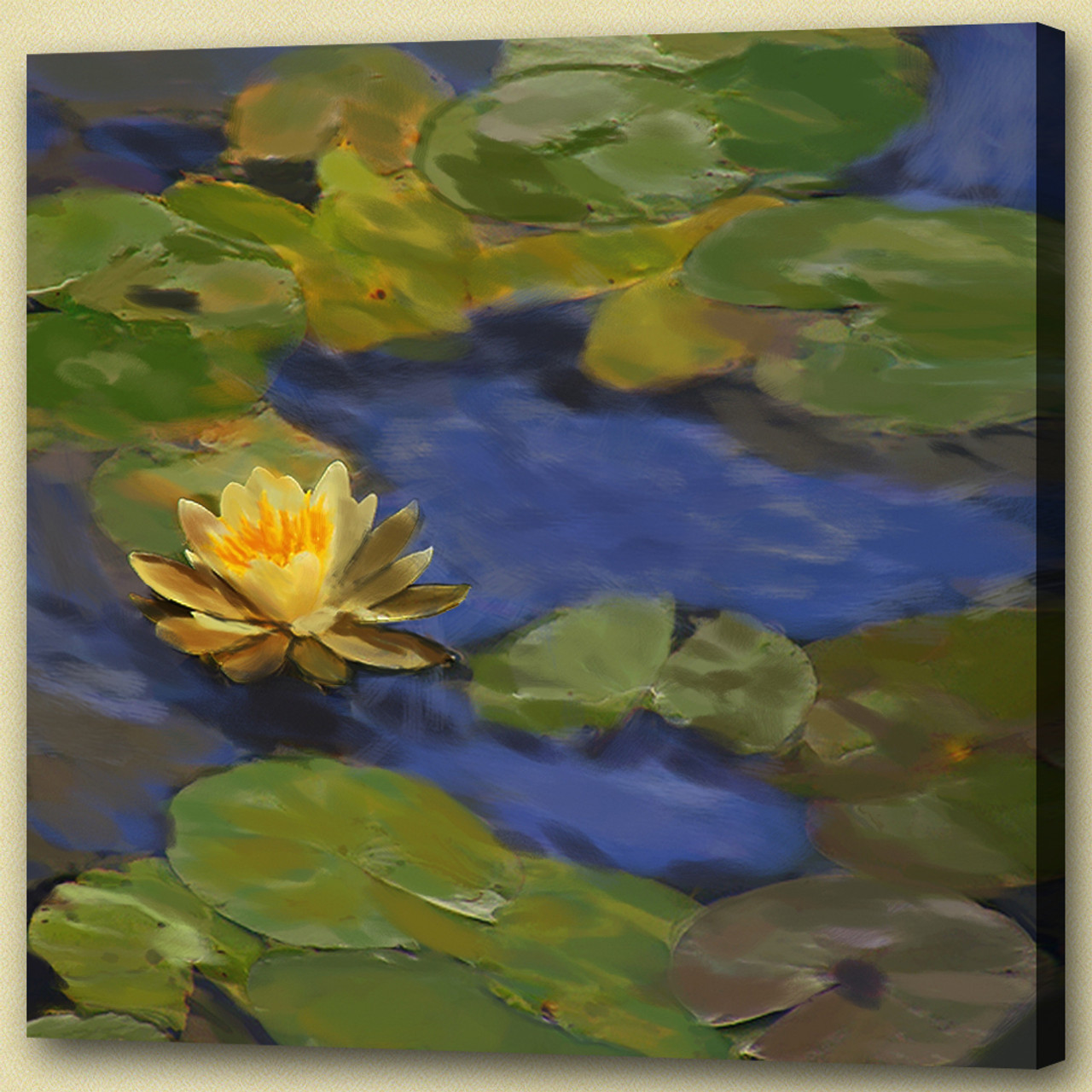 Buy Lotus In Pond By Community Artists Group At Rs 7590 Code
