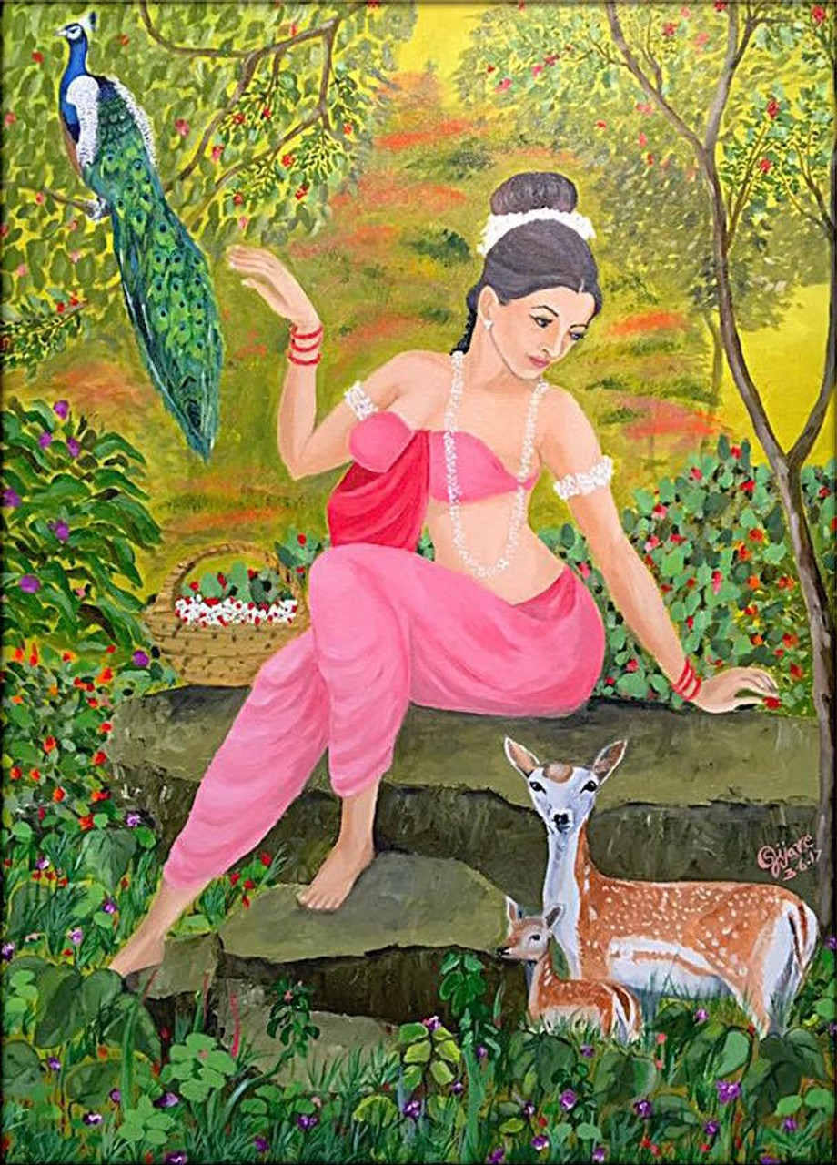 Image result for shakuntala painting