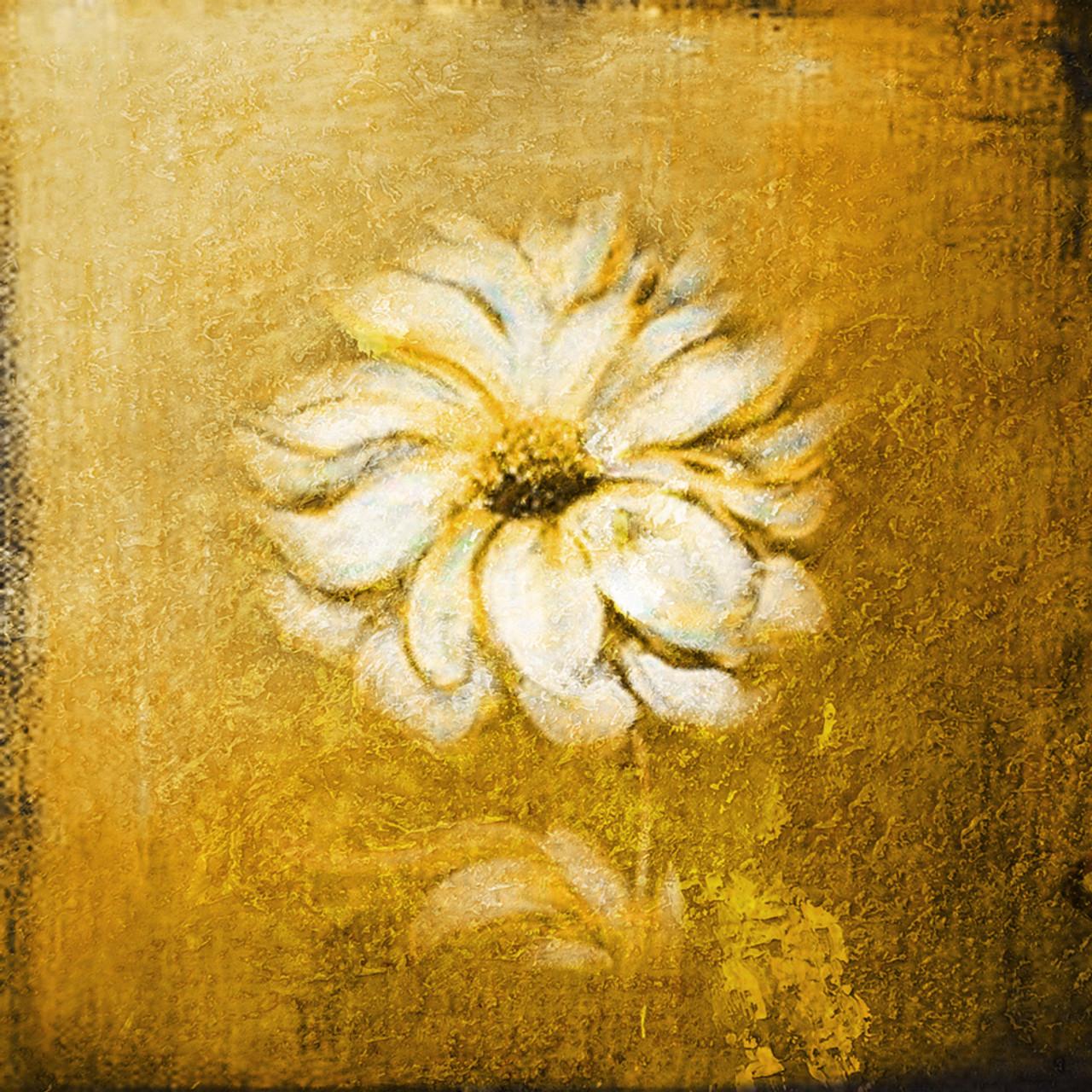 Goldie Handpainted Art Painting 24in X 24in Framed