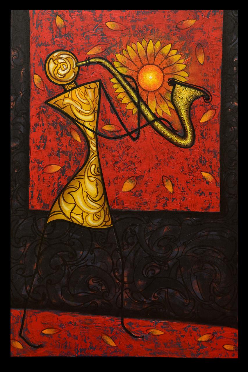 Buy Good Morning Handmade Painting By Pranita Pravin Code