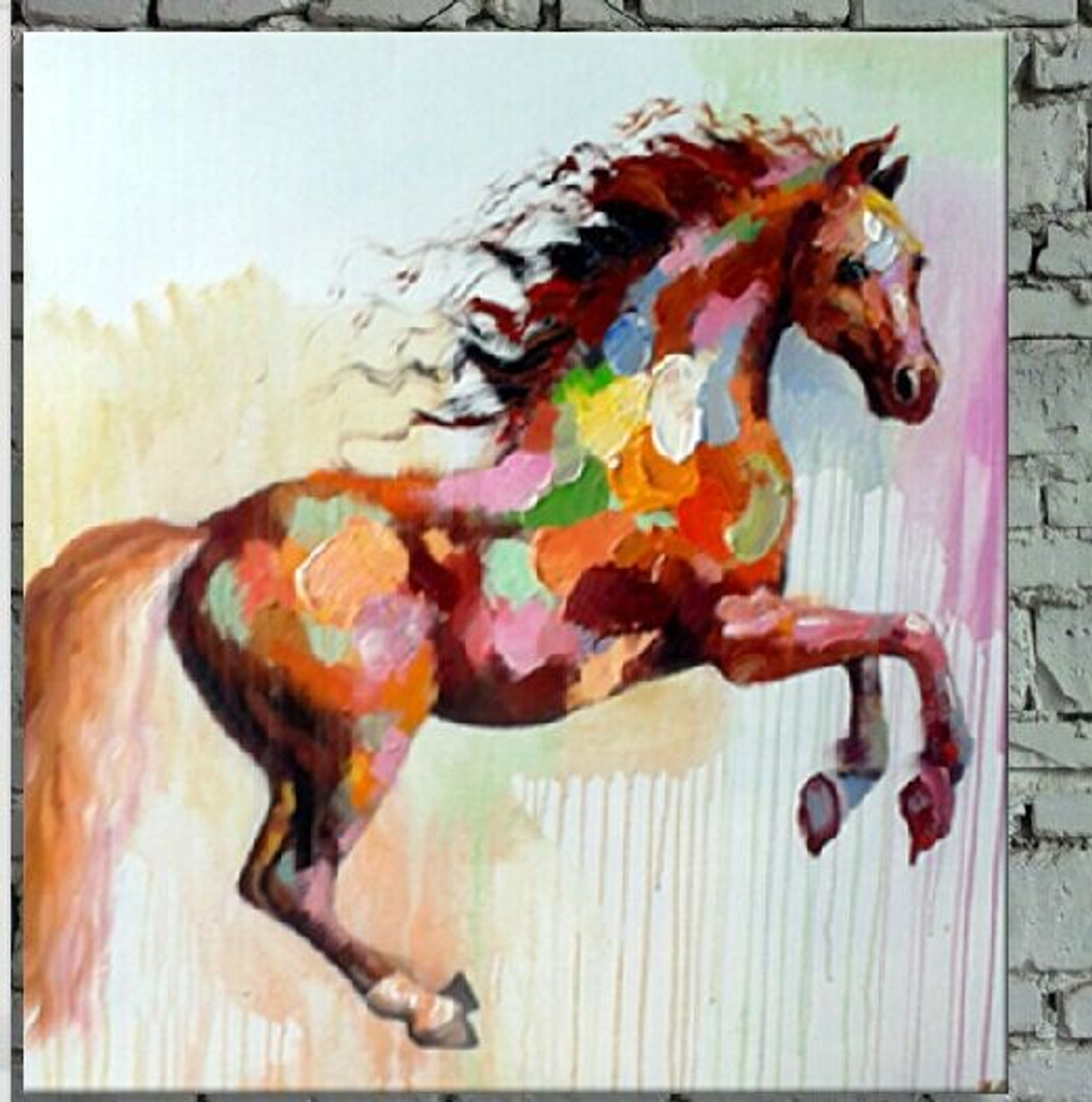 Buy Galloping Horse By Community Artists Group Rs 3590 Code Rtcsl 31 2424 Shop Art Paintings Online In India
