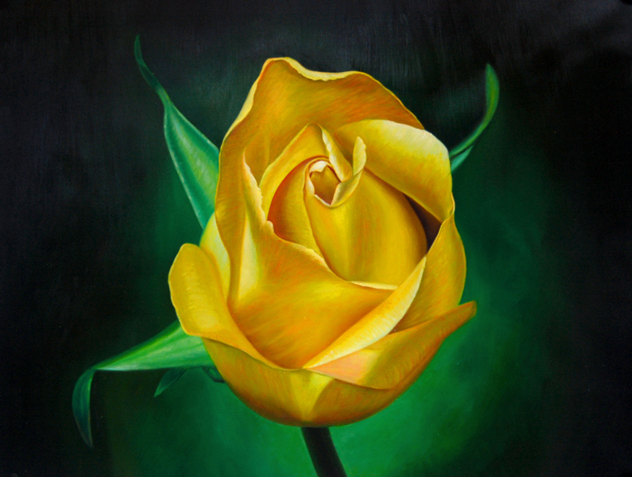 Buy Yellow Rose By Community Artists Group Rs 4990 Code
