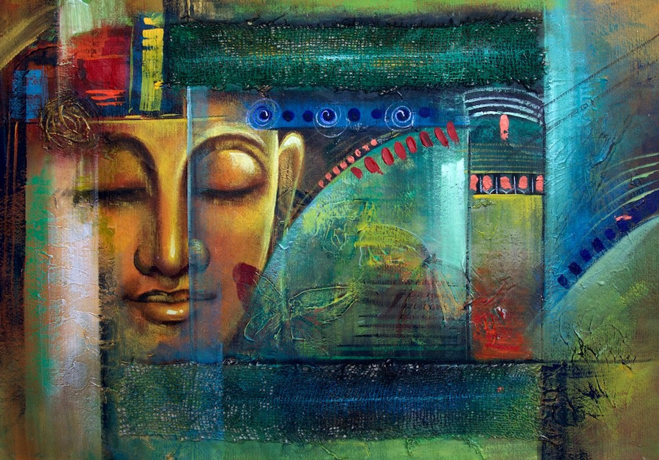 Modern Art Lord Buddha Images
