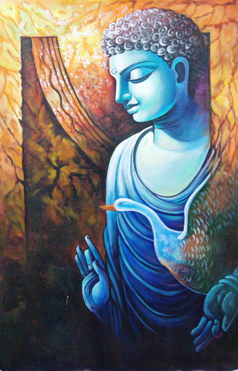 Buy buddha paintings online in india in affordable price
