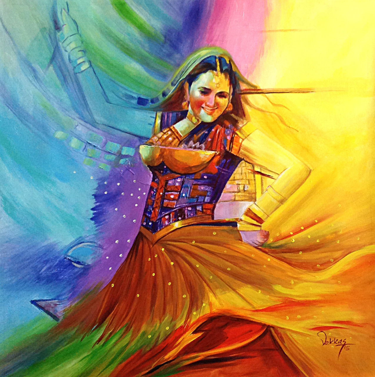 Buy Dance Of Passion By Vekkas M Rs 8590 Codeart -3995