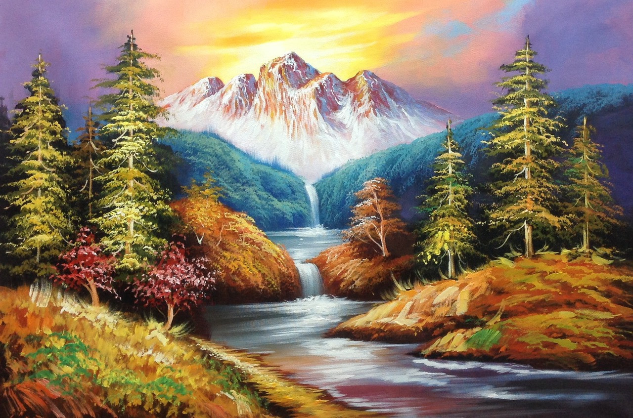 Buy Beauty Of Nature 3 By Community Artists Group Rs 7190 Code Achmer31 3624 Shop Art Paintings Online In India