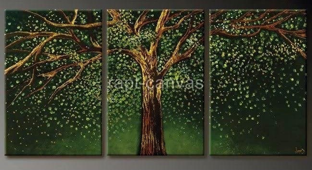 Tree Of Life 9 48in X 24in Details Inside Rtcsc 44 4824 Oil