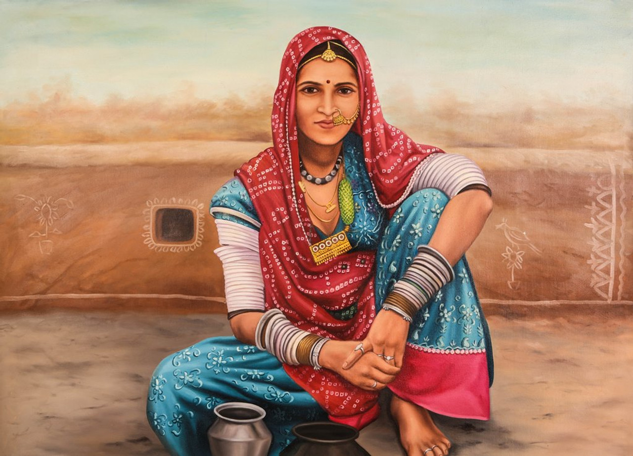 Buy Life Of Rajasthan 6 By Community Artists Group Rs -5676