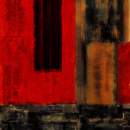 Abstract art,visual language,shape, form, color ,line, lyrical, imagery