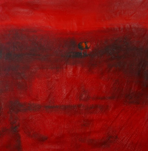 RedAbstract - 32in X 32in - Painting