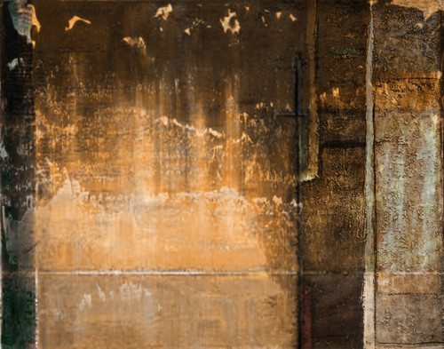 Abstractscene - 40in X 30in,25ABT863_4030,Yellow, Brown,100X75,Abstract Art Canvas Painting