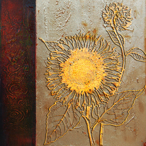 Flower,FloralSunflower,Gold Flower