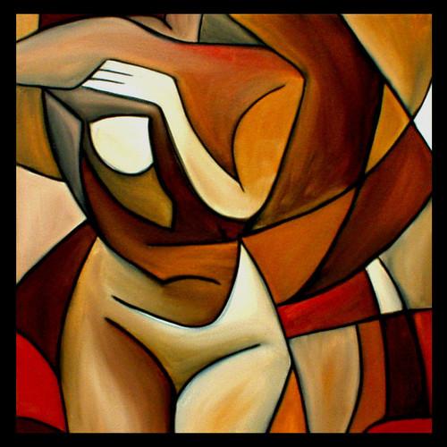 erotic, nude, abstract nude, sex,Harmony Of  Life,ART_1289_11075,Artist : Vijay  Sareen,Oil