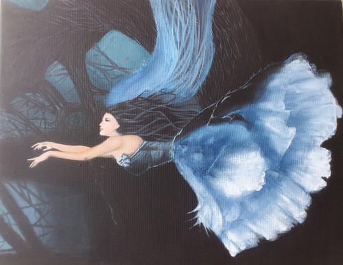,14*18 - Forest fantasy - Handpainted,ART_586_8786,Artist : Sabuhi Khan,Acrylic