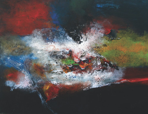 Abstract Painting,Abstract-5,ART_1342_11343,Artist : Maruthi Banada,Acrylic